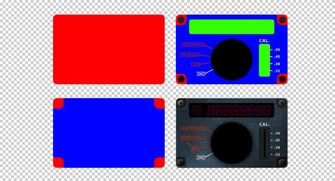 操作パネル画像